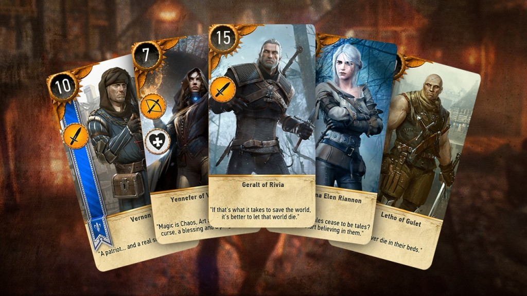 witcher gwent title