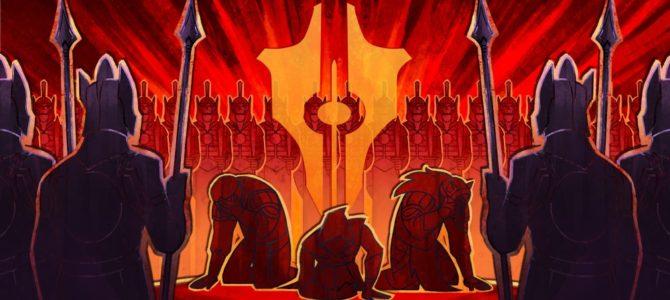 Tyranny, беззаконие и путь зла в видеоиграх