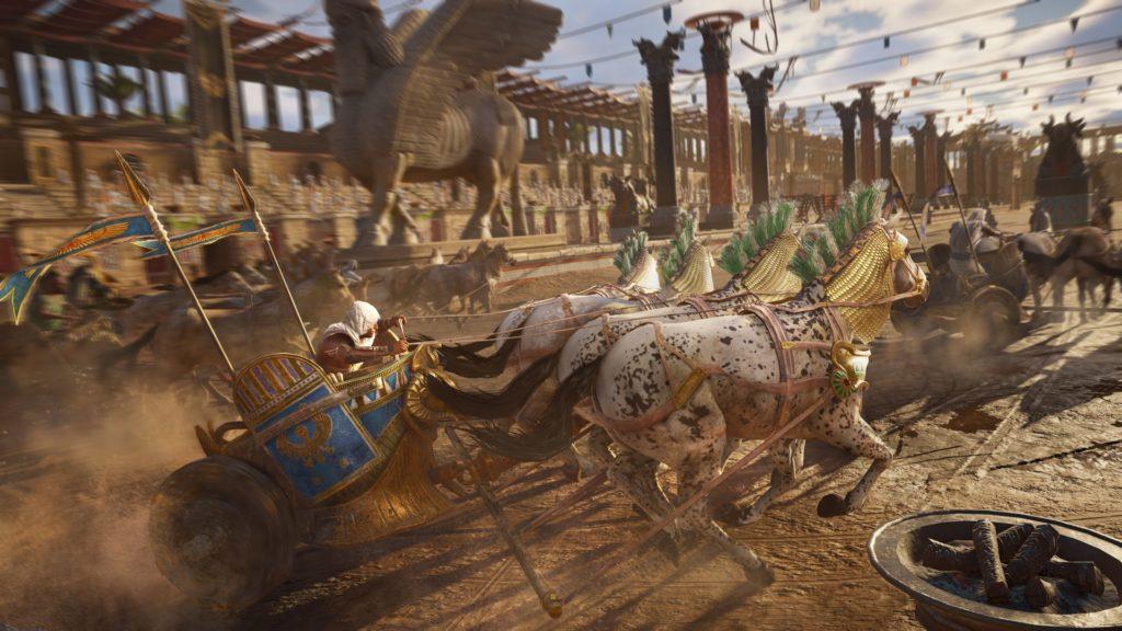 арена и гонки в ac origins