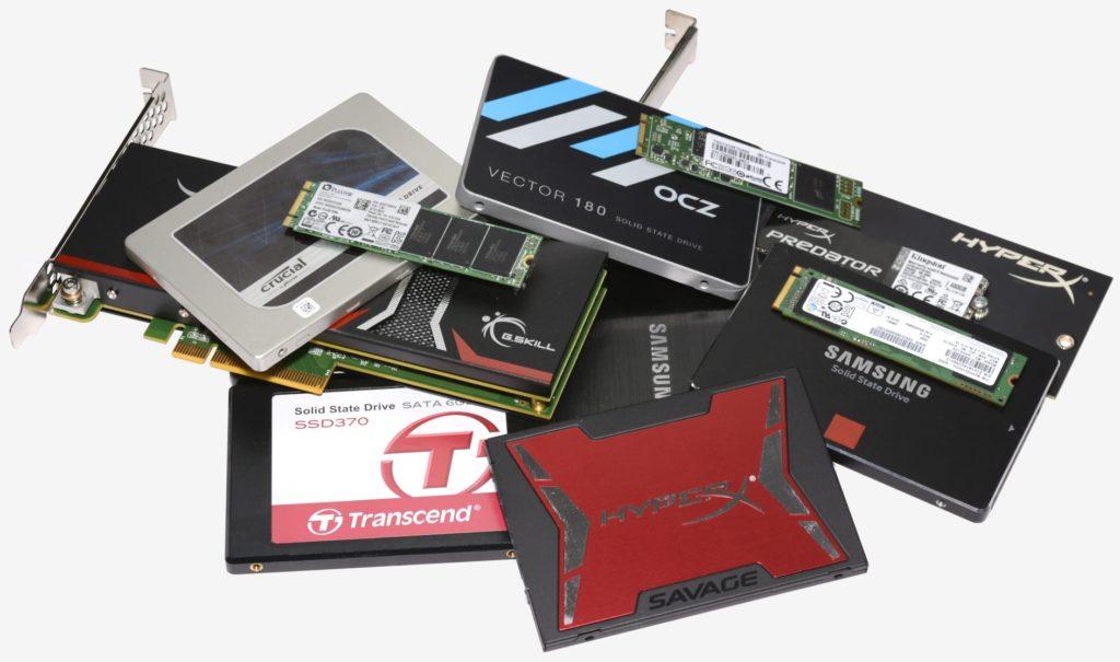 обзор рынка SSD 2018
