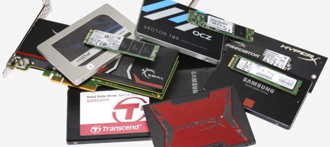 Какой SSD-накопитель купить в конце 2017 года