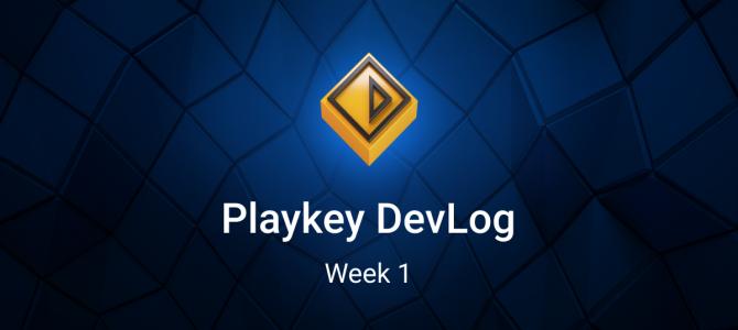 Дневники разработчика Playkey. Первая неделя