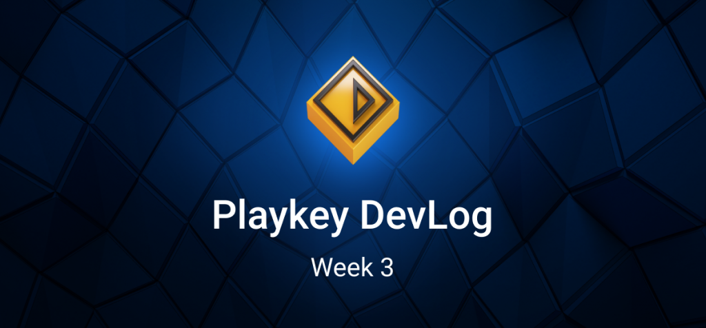Playkey DevLog. Week 3