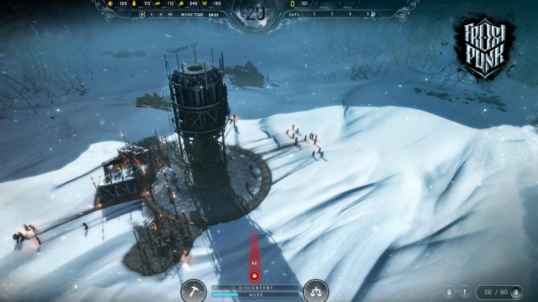 Frostpunk скриншот