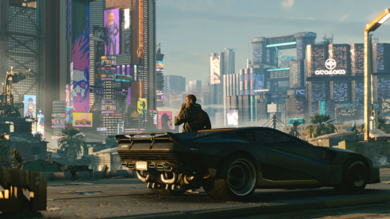 Cyberpunk 2077 скриншот E3 2018