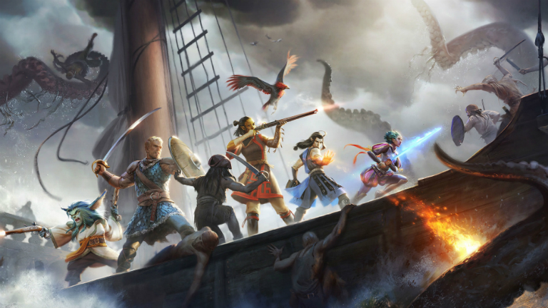 Pillars of Eternity 2: Deadfire арт