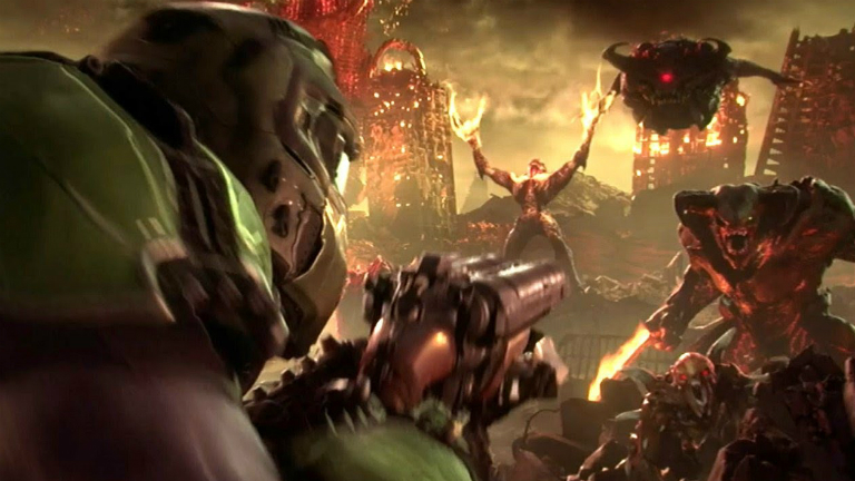 Doom Eternal скриншот E3 2018