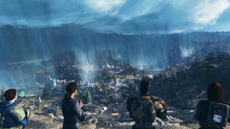 Fallout 76 скриншот E3 2018