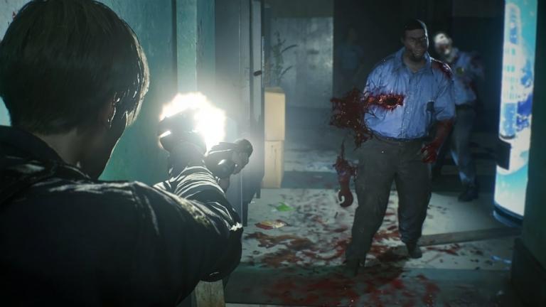 Resident Evil 2 скриншот E3 2018