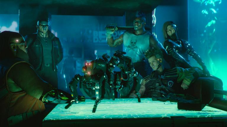 Cyberpunk 2077 скриншот