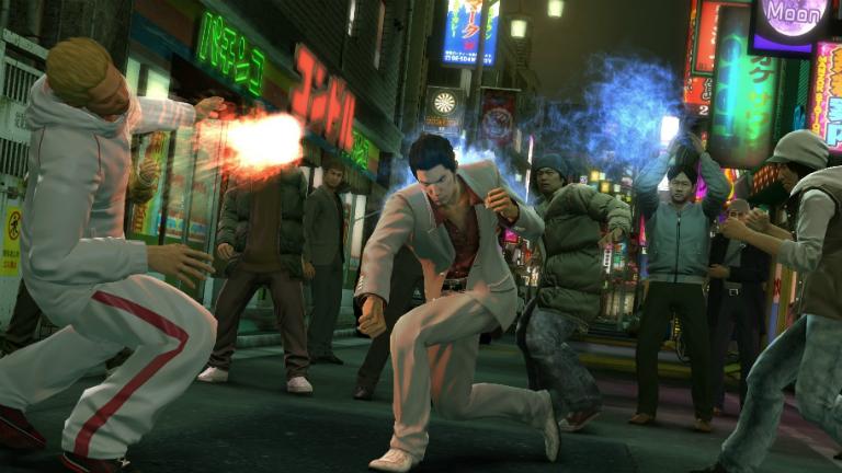 Yakuza Kiwami скриншот