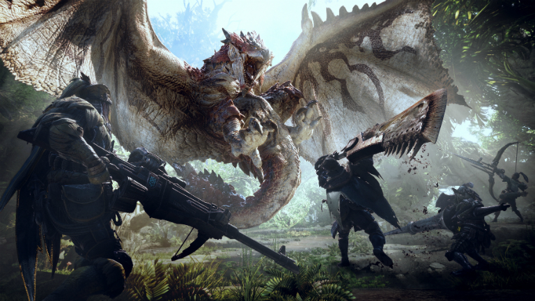 Monster Hunter: World арт