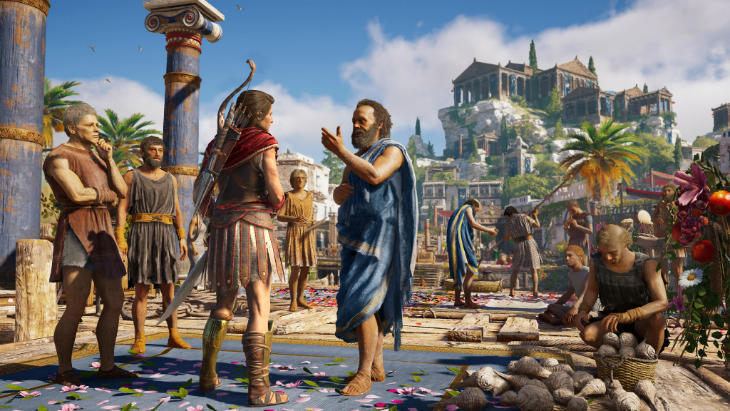 Assassin's Creed Odyssey скриншот