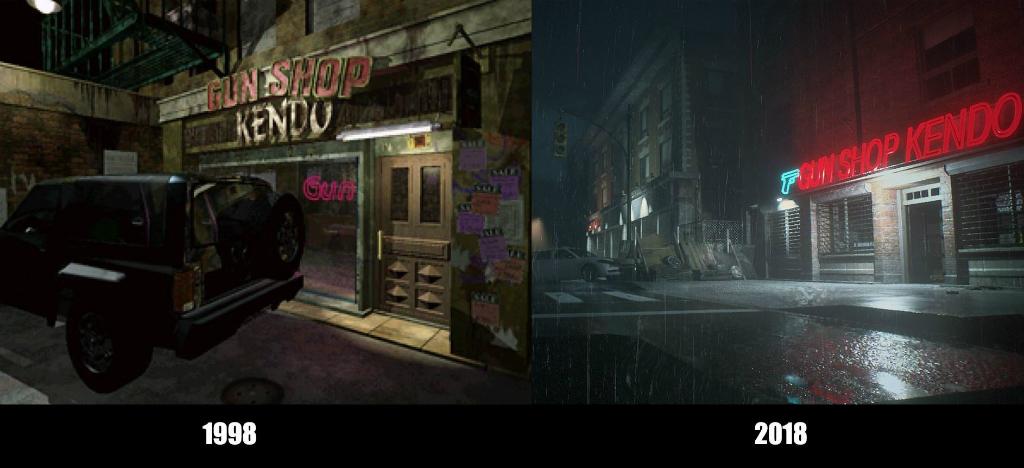 Resident Evil 2 Remake vs Original