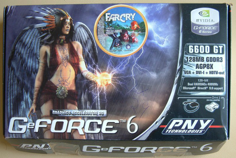PNY GeForce 6600 GT