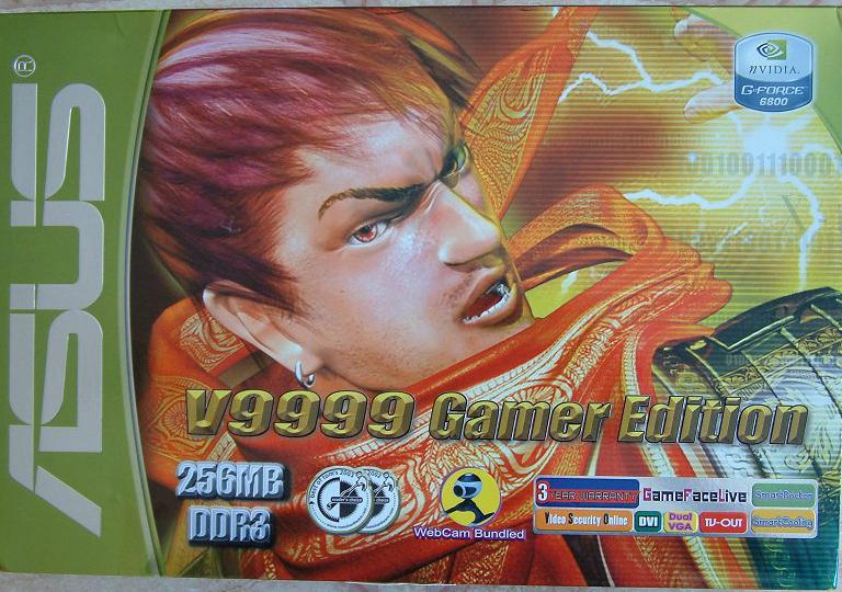 ASUS GeForce 6800 V9999 Gamer Edition