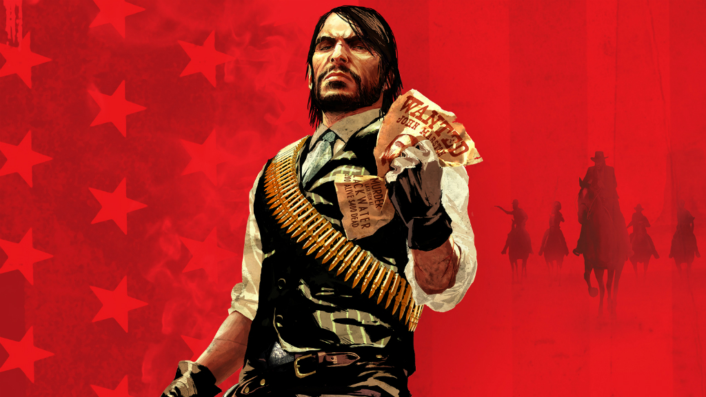 Red Dead Redemption арт