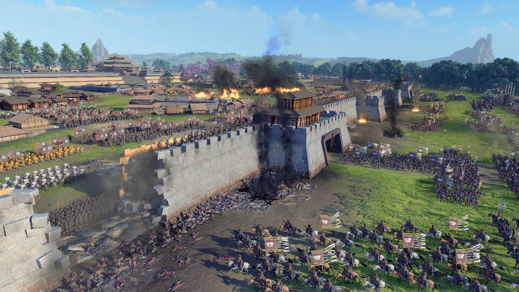 Total War: Three Kingdoms скриншот