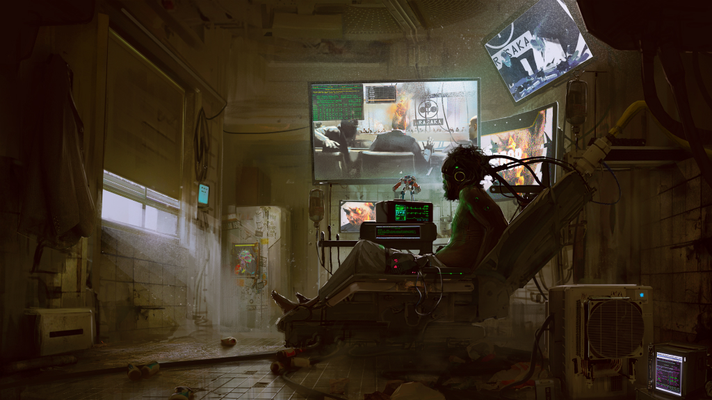 Cyberpunk 2077 арт