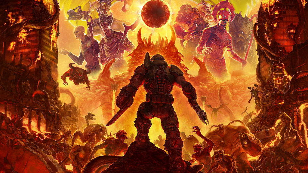 Doom Eternal арт