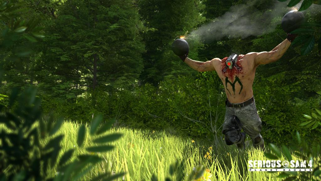 Serious Sam 4 скриншот